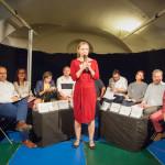 Za Brno kulturní všechny v sále přivítala Pavlína Lolloková